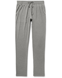 Loro Piana Slim Fit Cotton And Cashmere Blend Sweatpants
