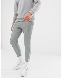 ONLY & SONS Slim Track Pant With And Cropped Ankle