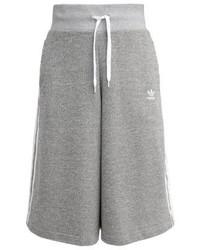 adidas Tracksuit Bottoms Medium Grey Heather