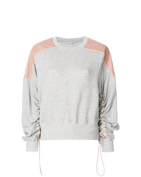Stella McCartney Ruched Sleeve Sweatshirt