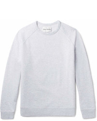 Privee Salle Prive Cole Mlange Loopback Cotton Jersey Sweatshirt