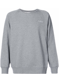 Secondlayer Embroidered Raglan Sweatshirt