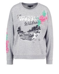 New Look Sweatshirt Grey Marl