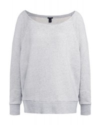 J.Crew Sweatshirt Heather Overcast Snow