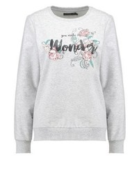 Sweatshirt light grey melange medium 3945217