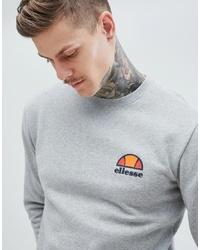 Ellesse Sweatshirt With Small Logo In Grey