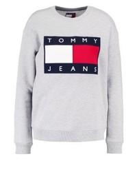 Tommy jeans 90s sweatshirt mottled grey medium 3944964