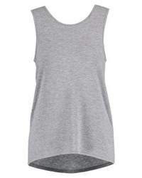 Nmmaggi vest light grey melange medium 4256539