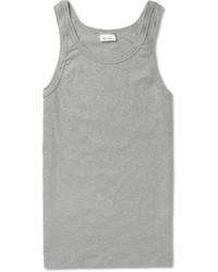 Schiesser Slim Fit Stretch Cotton Jersey Tank Top