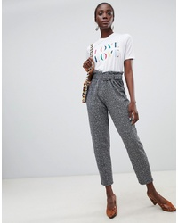 Pieces Paperbag Waist Trouser