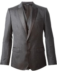 Dolce & Gabbana Classic Three Piece Suit