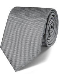 Charles Tyrwhitt Silver Silk Classic Plain Tie