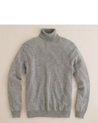 J.Crew Italian Cashmere Turtleneck Sweater