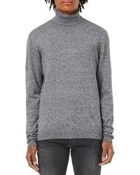 Marled turtleneck sweater medium 816342