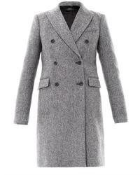 Panda tweed wool coat medium 8337
