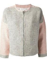 Derek Lam 10 Crosby Colour Block Tweed Jacket