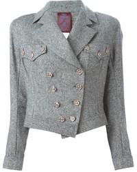 Vintage tweed biker jacket medium 347230