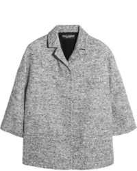 Dolce & Gabbana Wool Blend Tweed Jacket