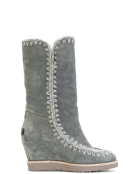 Mou Wedged Eskimo Boots