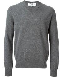 Comme des Garcons Comme Des Garons Play Mini Heart V Neck Sweater
