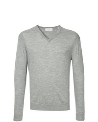 Cerruti 1881 Long Sleeve Fitted Sweater