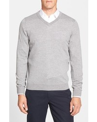 Nordstrom Merino Wool V Neck Sweater