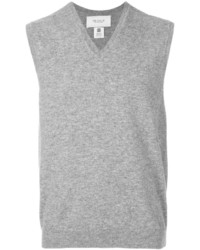 Pringle Of Scotland V Neck Sleeveless Jumper