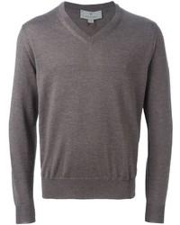 Canali V Neck Sweater