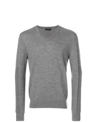 Joseph V Neck Sweater