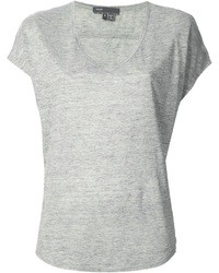 Grey v neck t shirt original 1308795
