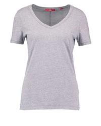 s.Oliver Basic T Shirt Grey Melange