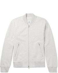 Reigning Champ Loopback Cotton Jersey Varsity Jacket