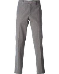 Incotex Striped Jacquard Trousers