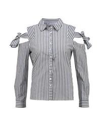 Even&Odd Shirt Whiteblack