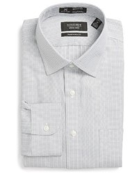 Shop smartcare traditional fit stripe dress shirt medium 1150263