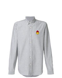 AMI Alexandre Mattiussi Shirt With Smiley Patch