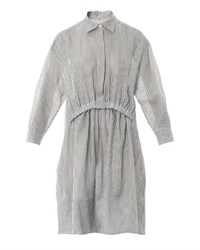 Stella McCartney Steffi Striped Cheesecloth Shirt Dress
