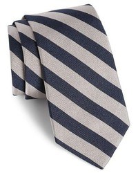 Gitman stripe silk tie medium 219962