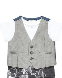 Grey Waistcoat
