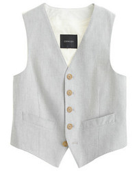 J.Crew Boys Ludlow Suit Vest In Oxford Cloth