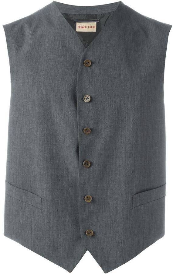 Romeo Gigli Vintage Classic Waistcoat
