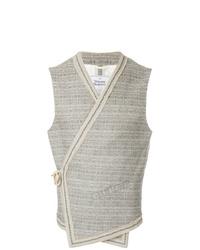 Vivienne Westwood Anglomania Side Fastening Wrap Waistcoat