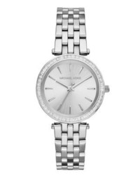 Michael Kors Mini Darci Watch Silberfarben