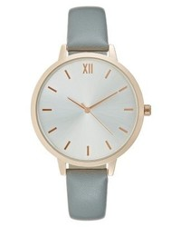 Anna Field Watch Light Grey