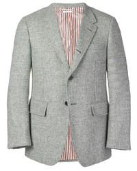 Thom Browne 4 Bar Wide Lapel Shetland Sport Coat