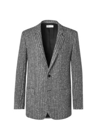 Saint Laurent Slim Fit Boucl Wool Blazer