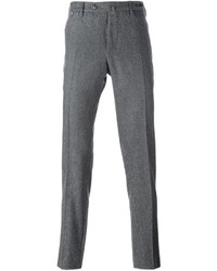 Grey Wool Chinos