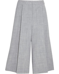 Grey Wool Culottes
