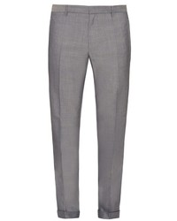Jil Sander Adriano Wool And Cotton Blend Trousers