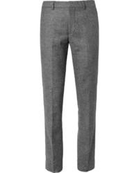 Club Monaco Slim Fit Herringbone Tweed Trousers